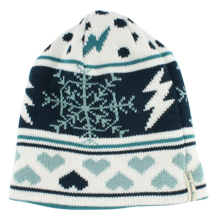 Ride - Pattern Reversible Beanie - Women's