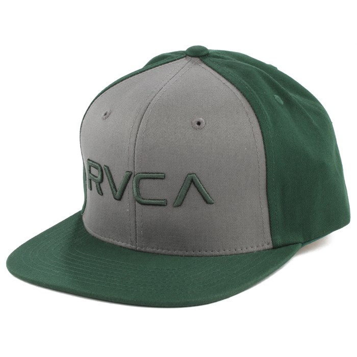 0fe07acf ... clearance rvca twill snapback hat 3af11 1979b