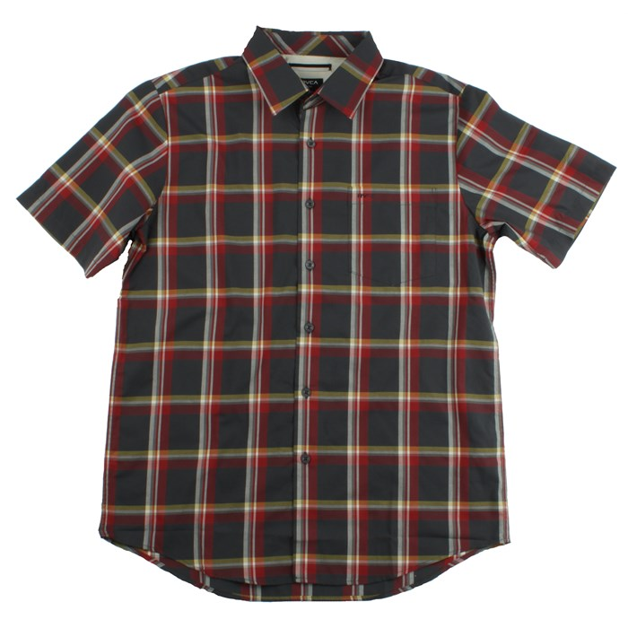 RVCA - Firecracker Short Sleeve Button Down Shirt
