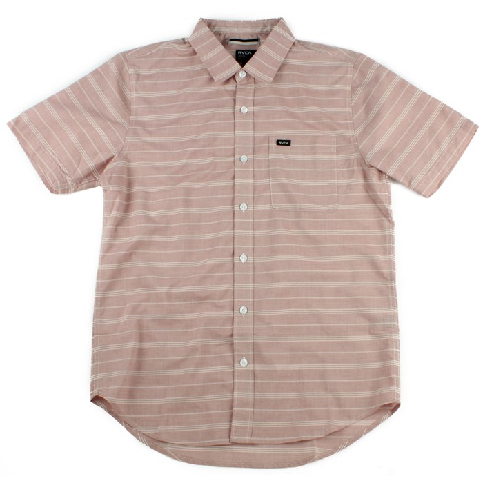 RVCA - RVCA Mason Short Sleeve Button Down Shirt