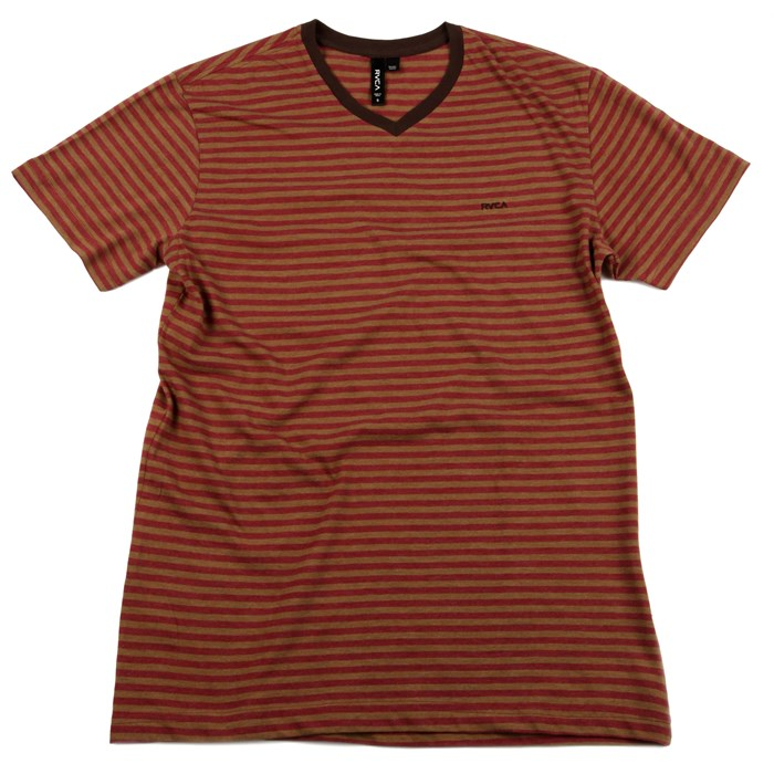 RVCA - Grain V Neck T Shirt