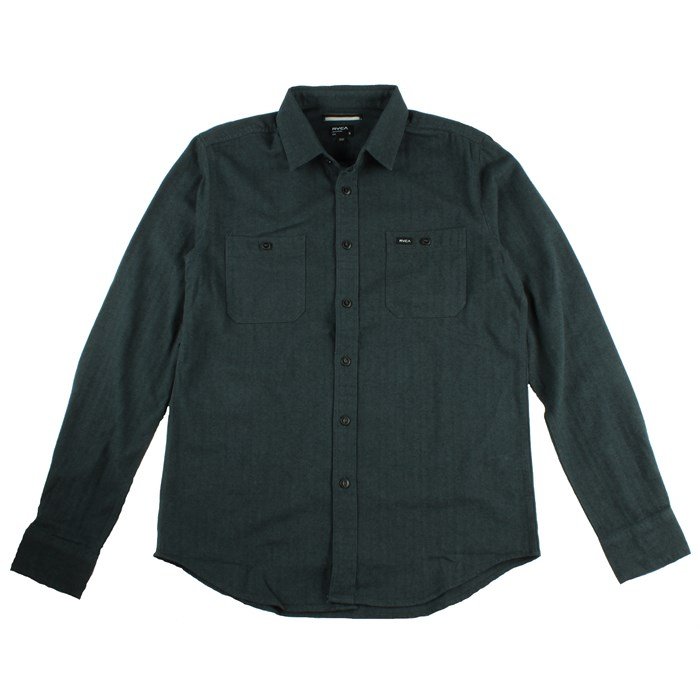 RVCA - Bone Button Down Shirt
