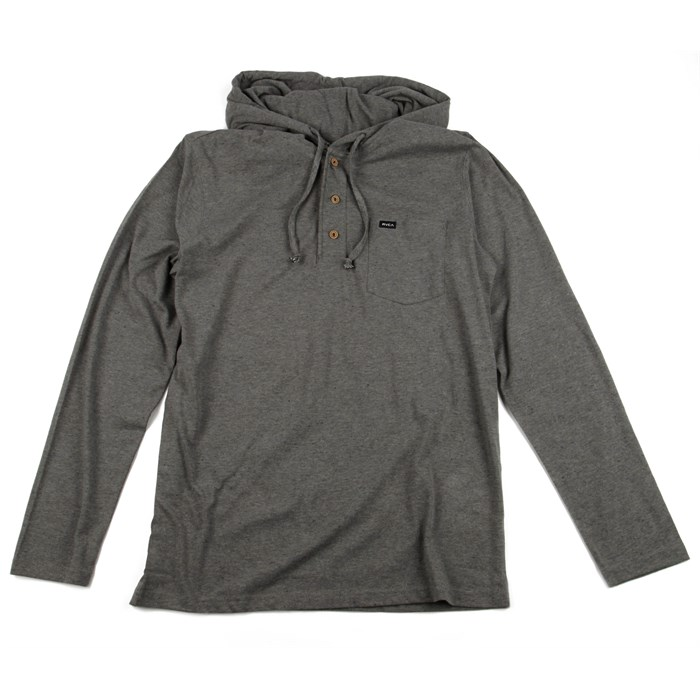 RVCA - Liability Hooded Henley Shirt