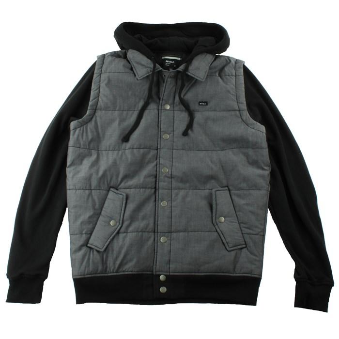 RVCA - Puffer Chambray Fleece Jacket