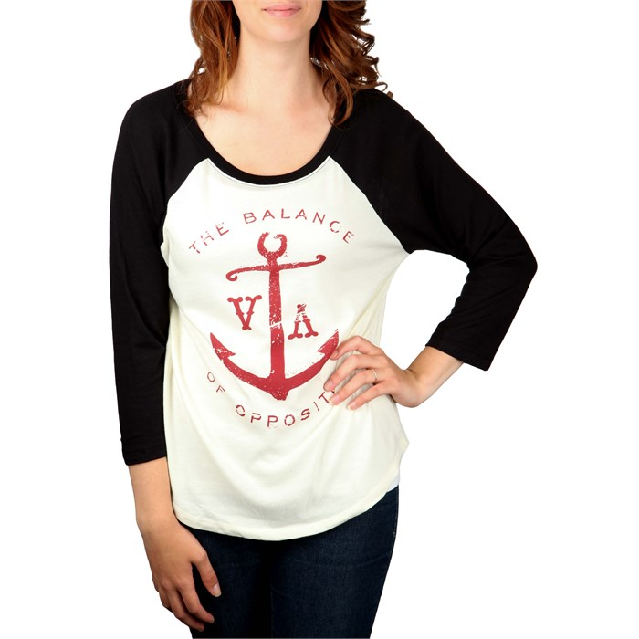 RVCA - Anchor Opposites Raglan Top - Women's