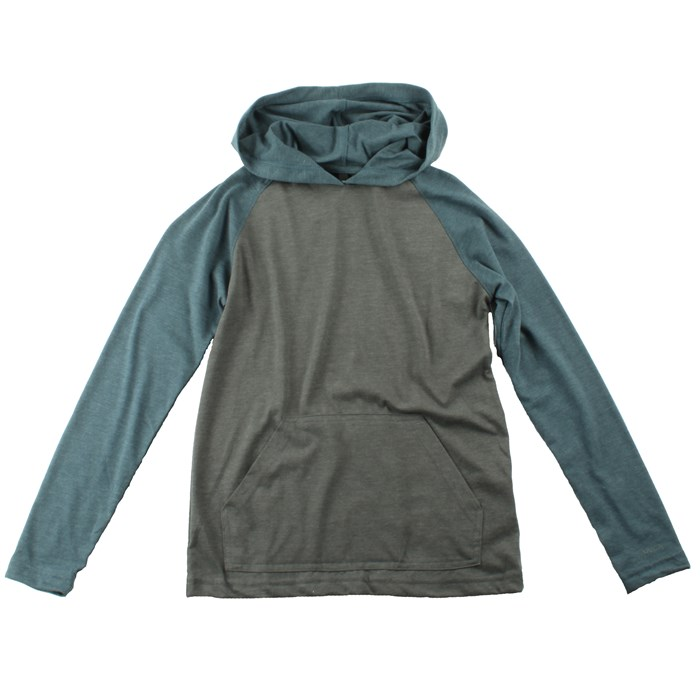 RVCA - Castro Hooded Raglan Shirt (Ages 8-14) - Boy's