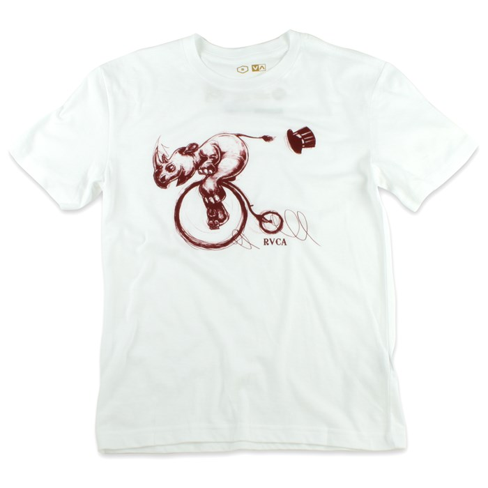 RVCA - Rhino Charge T Shirt - Youth - Boy's