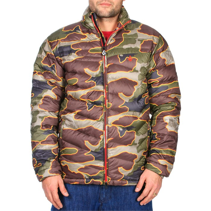 Volcom - Camo Puff Puff Give Jacket