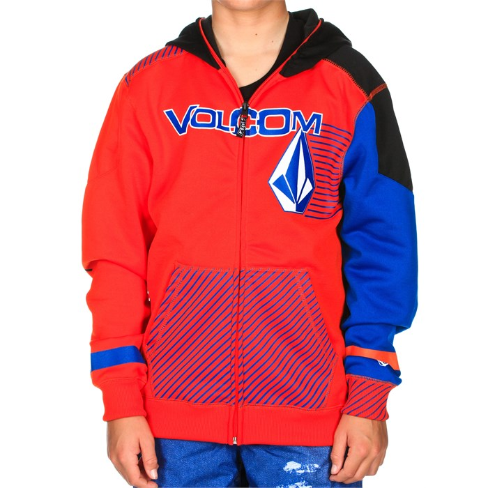 Volcom - Hammer Tech Hoodie - Youth - Boy's