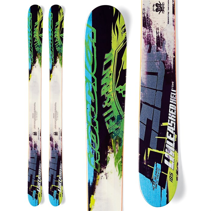 Nordica - Unleashed Hell Skis 2013