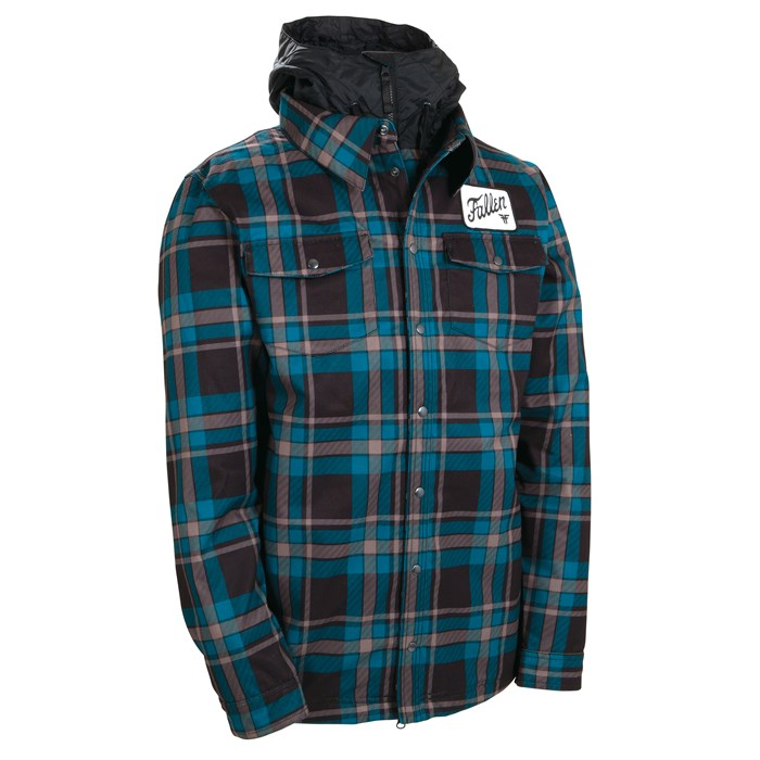 686 - 686 LTD Flannel Insulated Jacket