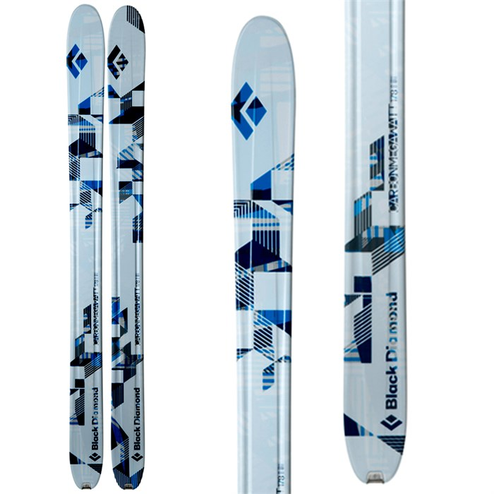 Black Diamond - Carbon Megawatt Skis 2013