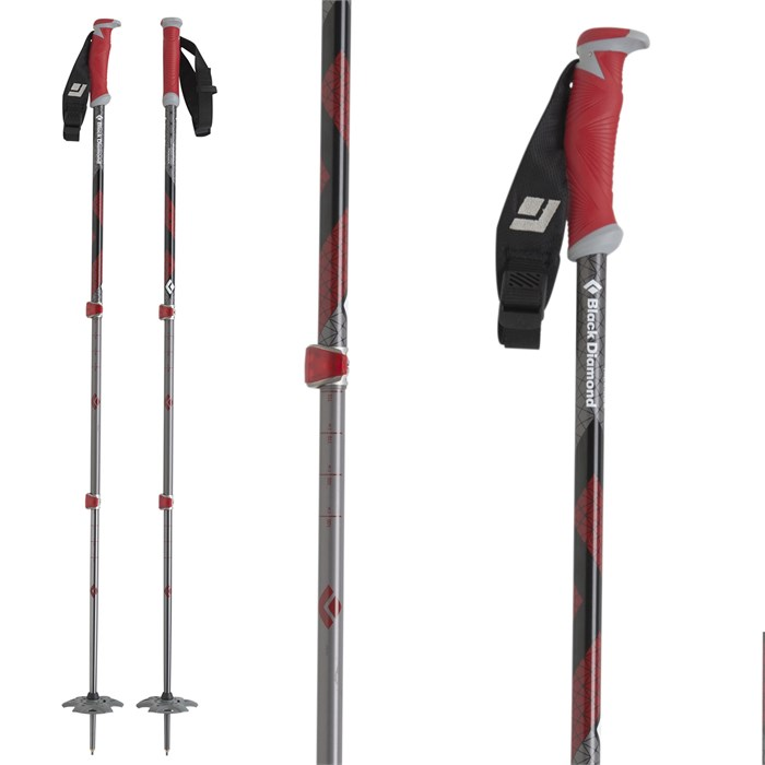 Black Diamond - Expedition Adjustable Ski Poles 2013