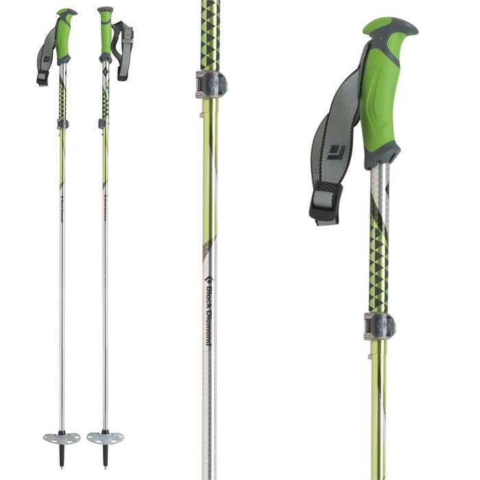 Black Diamond - Compactor Adjustable Ski Poles 2013