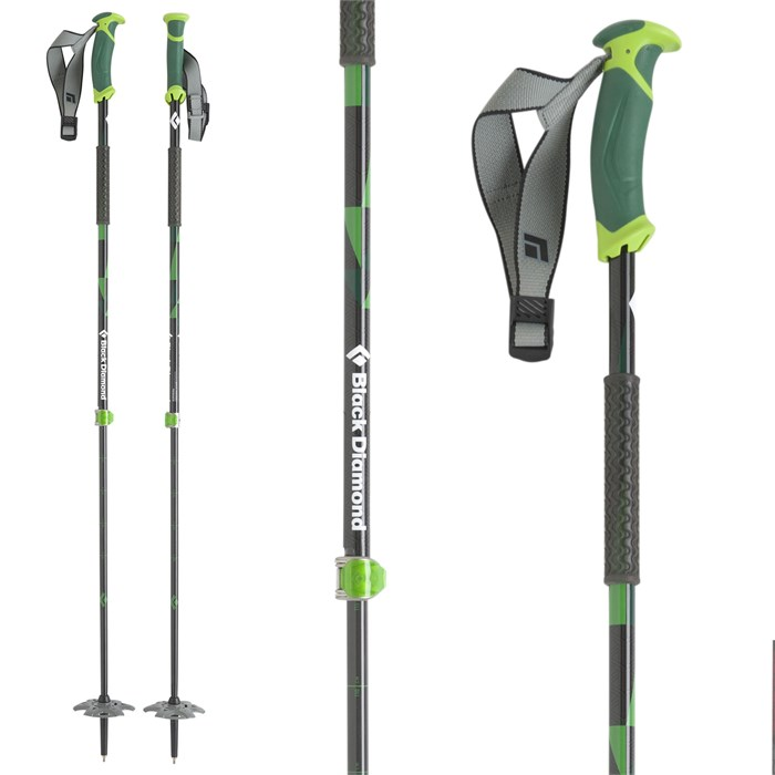 Black Diamond - Pure Carbon Adjustable Ski Poles 2016