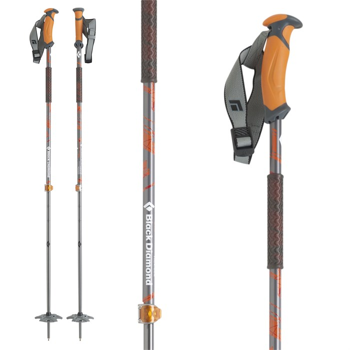 Black Diamond - Traverse Adjustable Ski Poles 2016