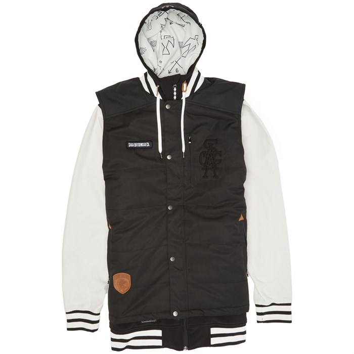Saga - Puff Vest Poly Softshell Jacket