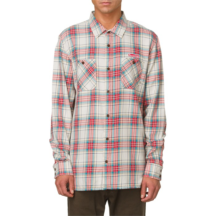 Vans - Birch Flannel Button Down Shirt