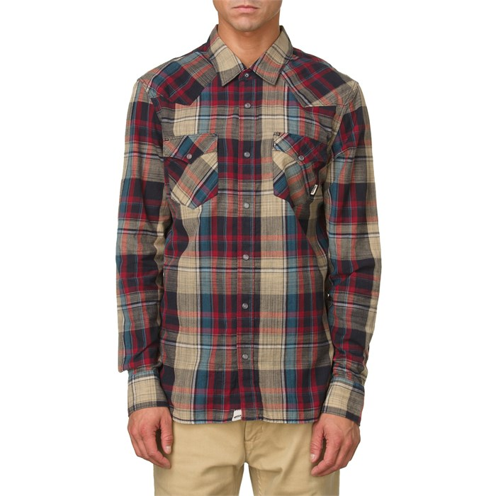Vans - Edgeware Woven Button Down Shirt