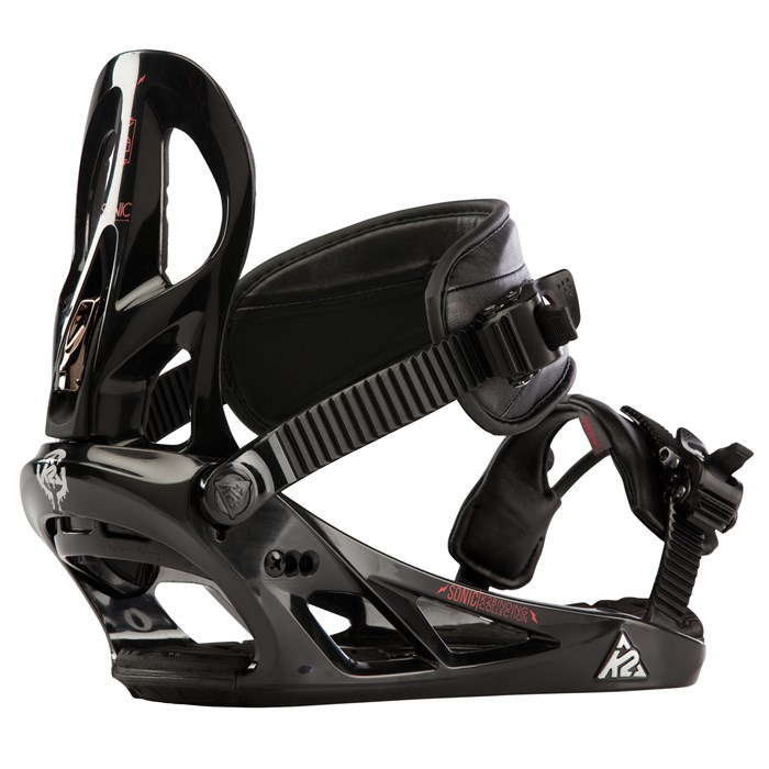 K2 - Sonic Snowboard Bindings - Demo 2013