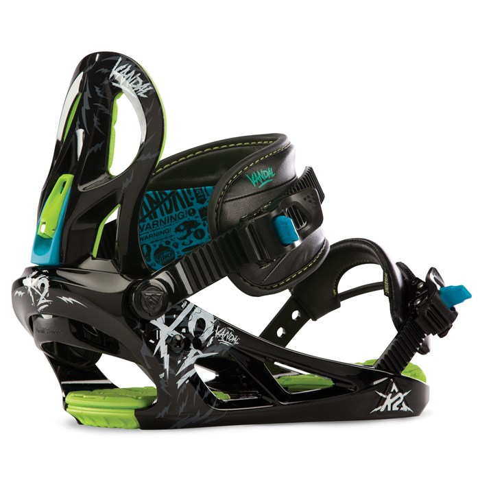 K2 - Vandal Snowboard Bindings - Demo 2013