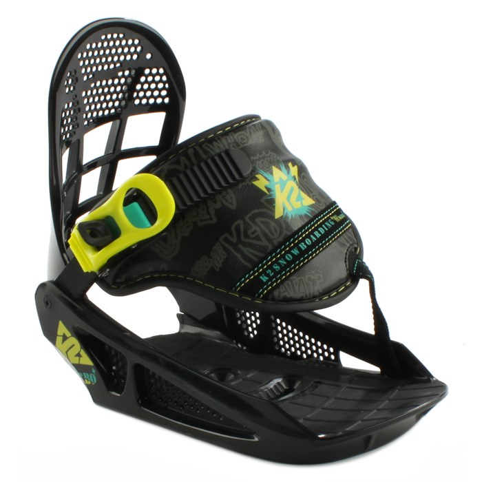 K2 - Mini Turbo Snowboard Bindings - Youth - Boy's - Demo 2013