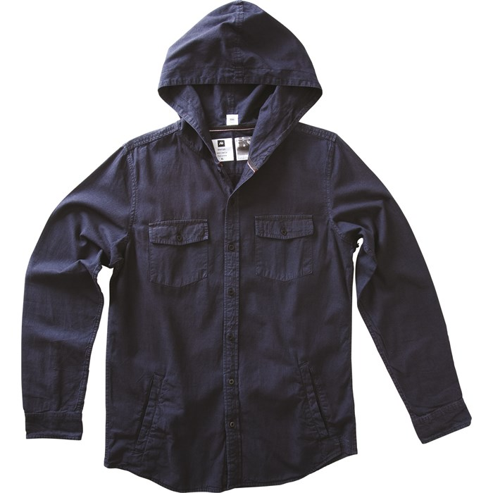 Analog - Belmot Hooded Button Down Shirt