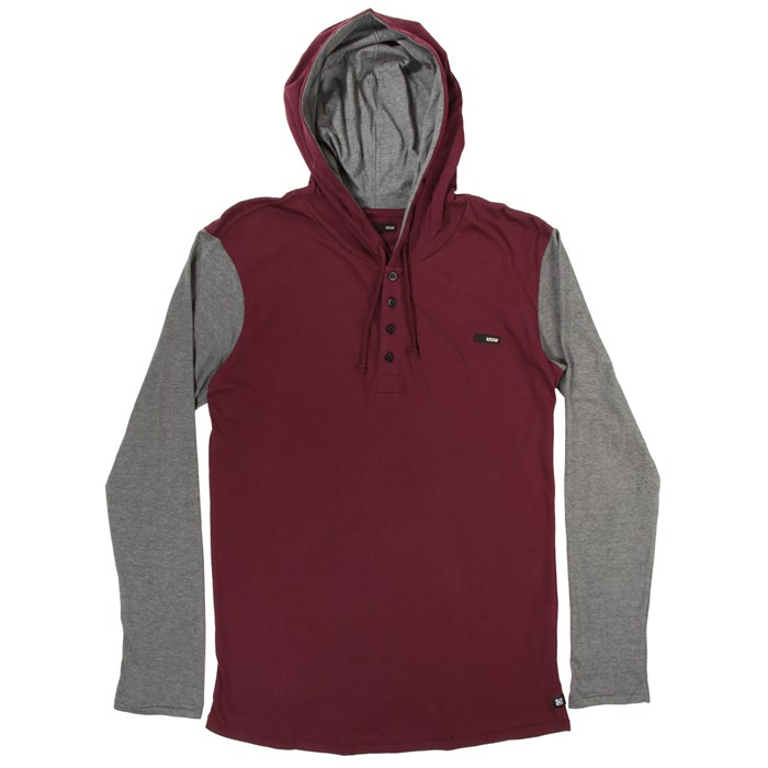 Kr3w - Ever Hooded Henley Shirt