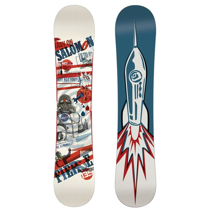 Salomon - Fierce Snowboard - Youth - Boy's - Demo 2013