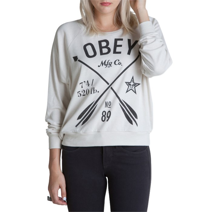 Obey Clothing - Crossed Arrows Top - Women's