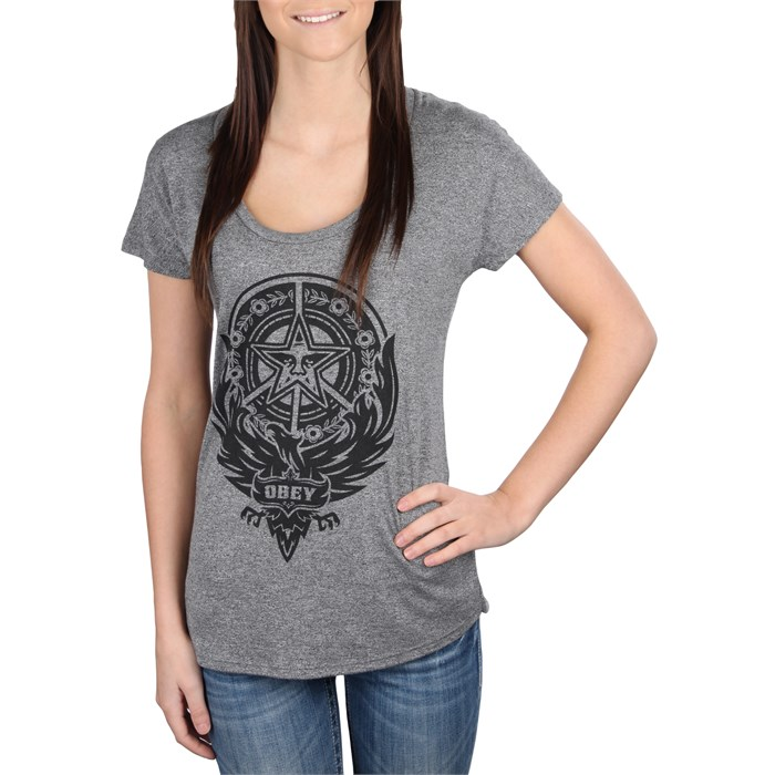 Obey Clothing - Peace Phoenix T Shirt - Women's
