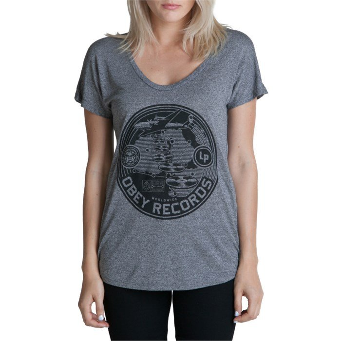 Obey Clothing - Hi-Fi Records T Shirt - Women's