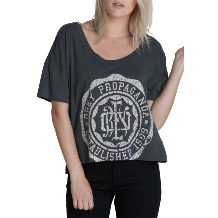 Obey Clothing - College Crest T Shirt - Women's