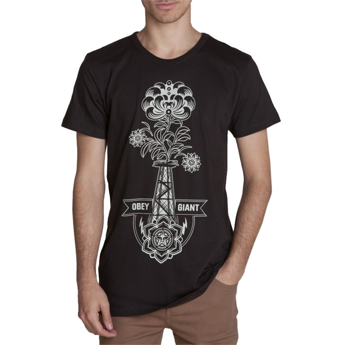 Obey Clothing - Obey Clothing Oil Rigged T-Shirt