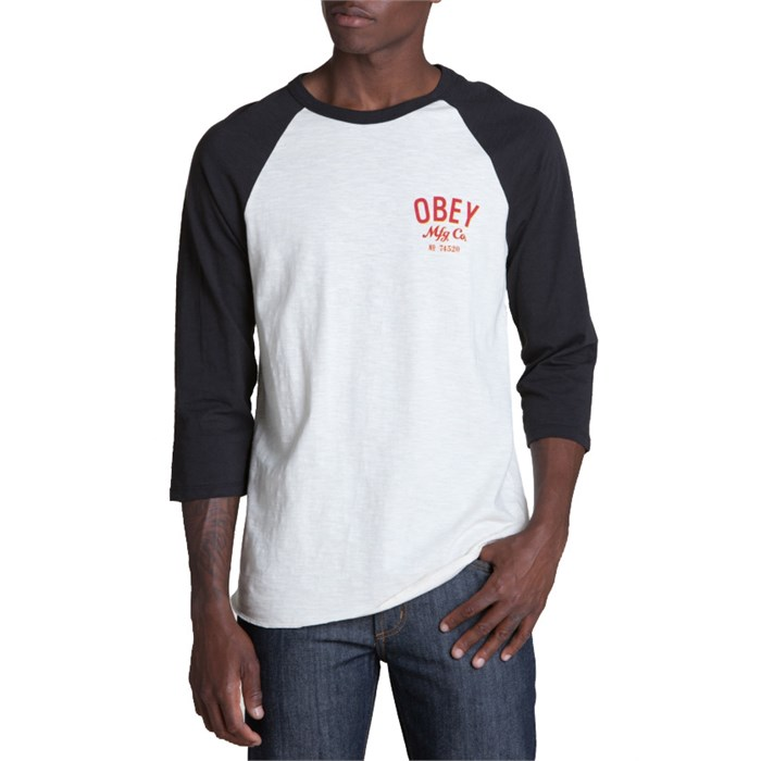 Obey Clothing - Obey Clothing MFG Co. Raglan Shirt