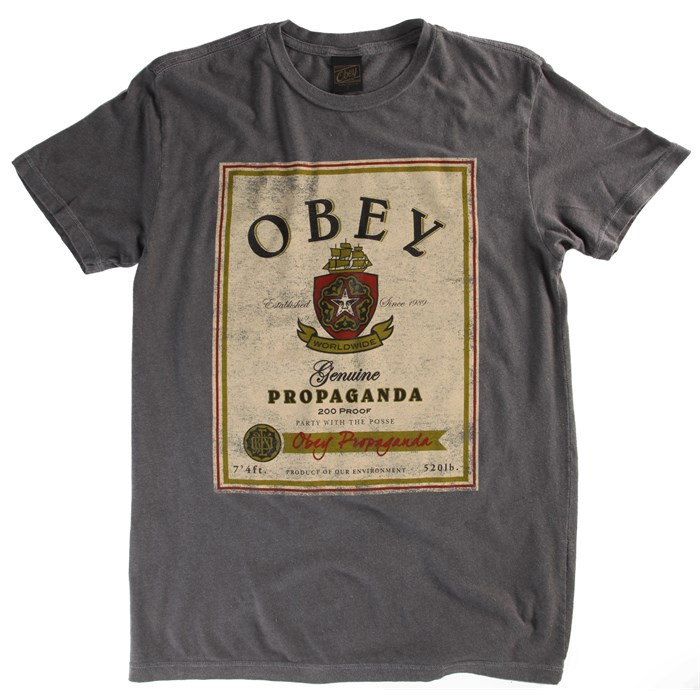 Obey Clothing - Obey Clothing Whiskey T-Shirt