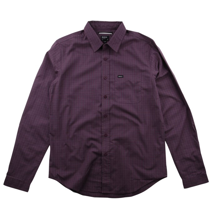 RVCA - Borealis Long Sleeve Button Down Shirt