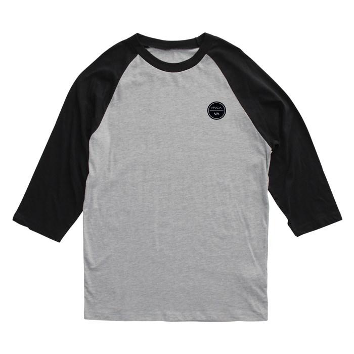 RVCA - Circle Logo Inverse Raglan Shirt