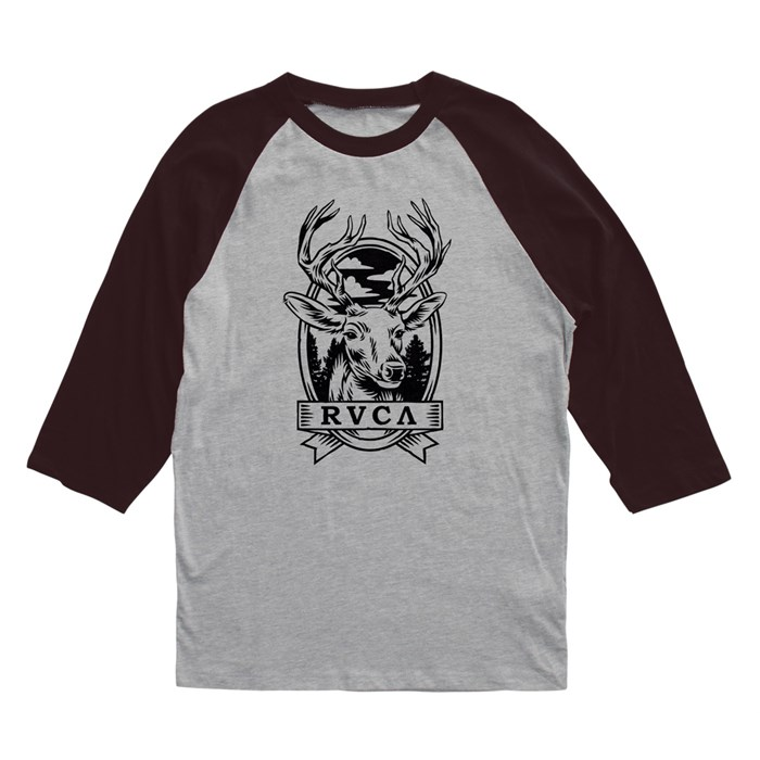 RVCA - Deer Head Raglan Shirt