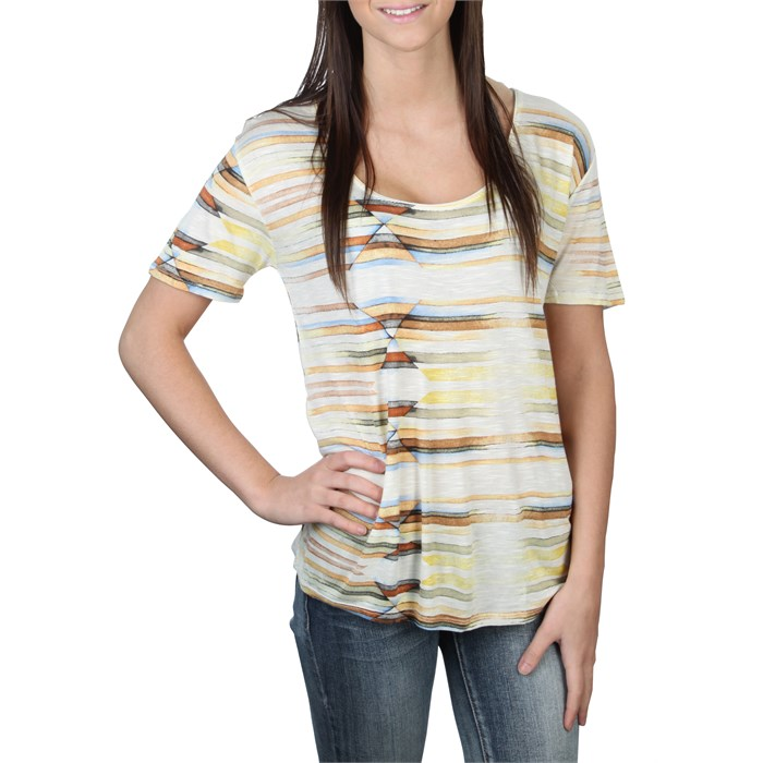 Quiksilver - Midtown Sunrise Scoop Crew Top - Women's