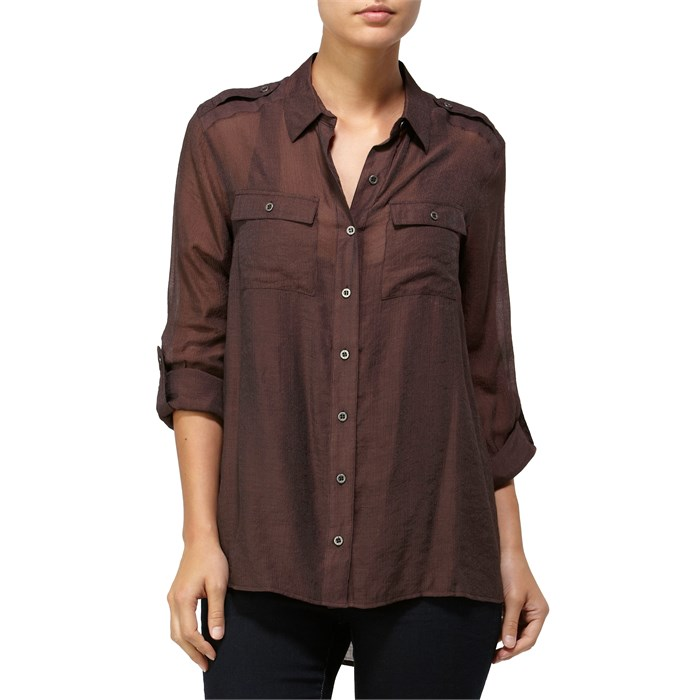 Quiksilver - Shimmer Button Down Shirt - Women's