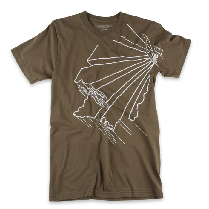 Casual Industrees - WA Outline 2.0 T Shirt