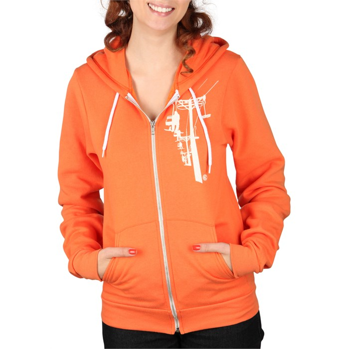 Casual Industrees - Chairlift Zip Hoodie - Women's