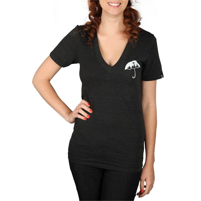 Casual Industrees - Umbrella V Neck T Shirt - Women's