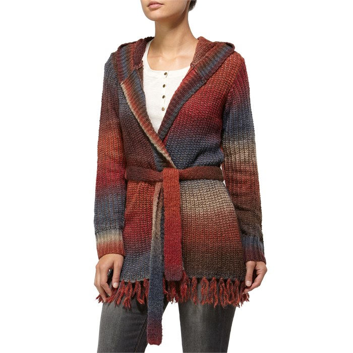 Quiksilver - Sunset Lake Ombre Wrap Sweater - Women's