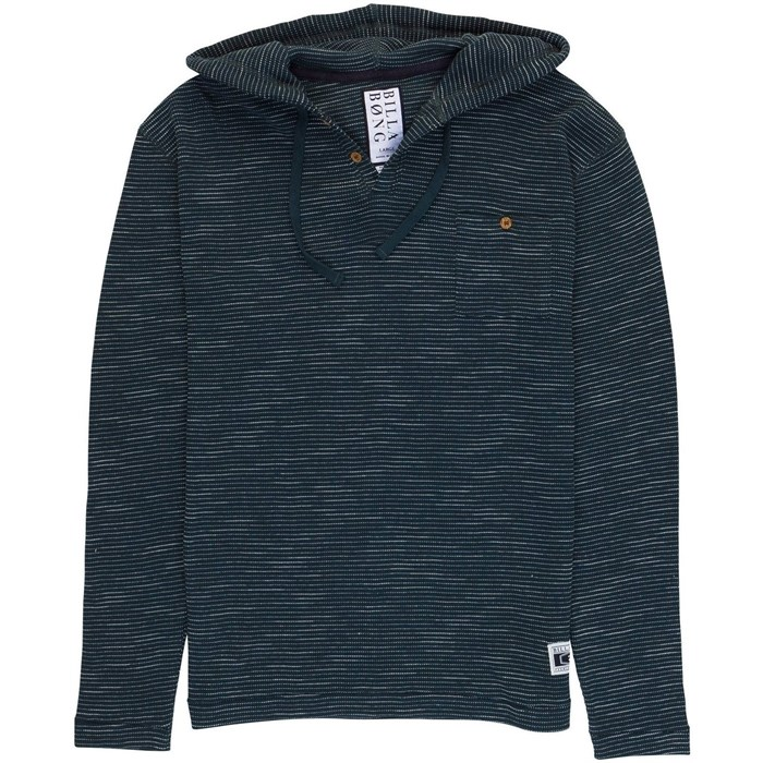 Billabong - Noise Hooded Henley Shirt