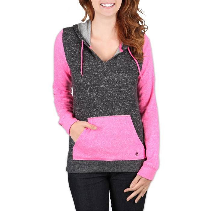 Volcom - Stripe Stack Pullover Hoodie - Women's