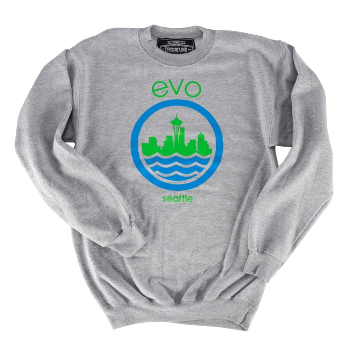 Casual Industrees - evo Needle Crew Neck Sweatshirt