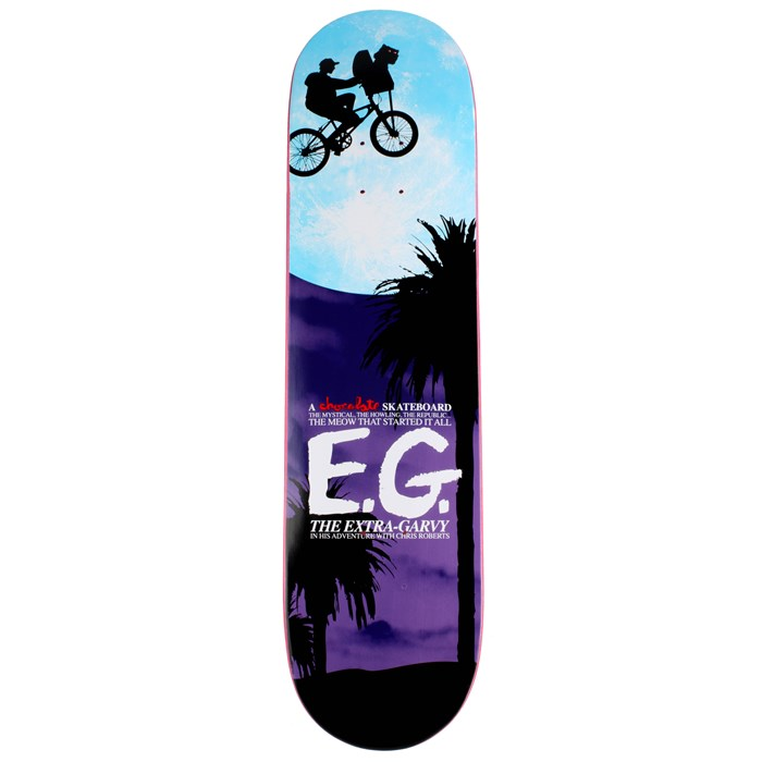 Chocolate - Chris Roberts E.G. Skateboard Deck