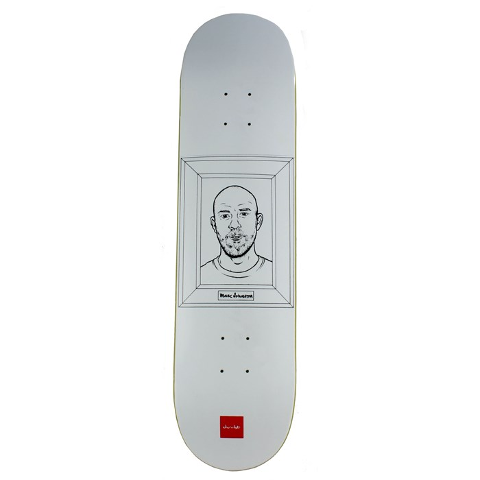 Chocolate - Marc Johnson Coloring Book Skateboard Deck